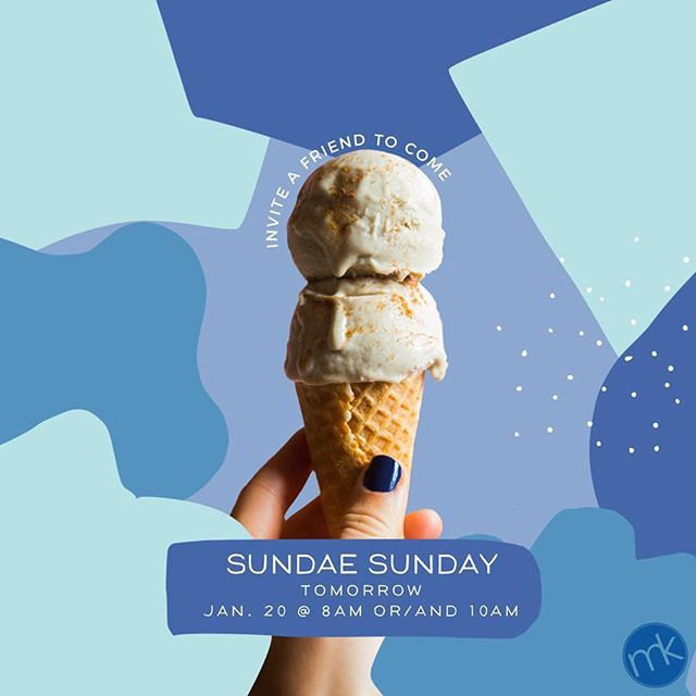 It's finally here! The kids and the volunteers have been waiting for it and we can't wait to taste all the flavors and meet the people you will bring to the party.  See you tomorrow at 8AM or/and at 10AM.  #MetroKidsRock #MKSundaeSunday