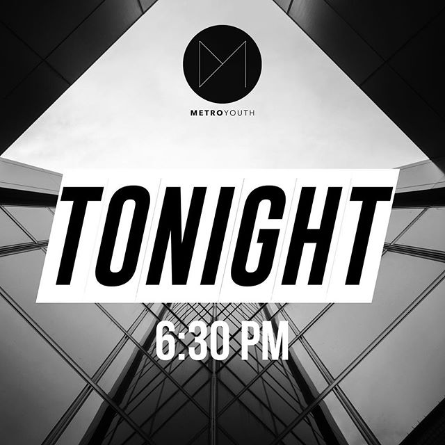 Service is tonight! 6:30! -Small Groups -Worship -Games