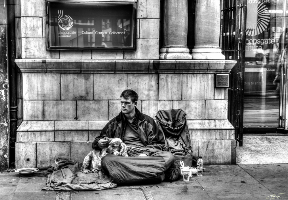 Homeless in London