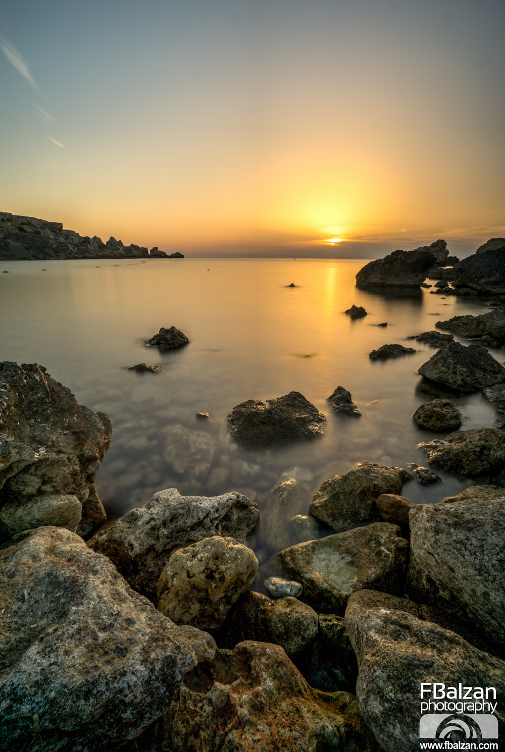 Gnejna Sunset Malta Photography