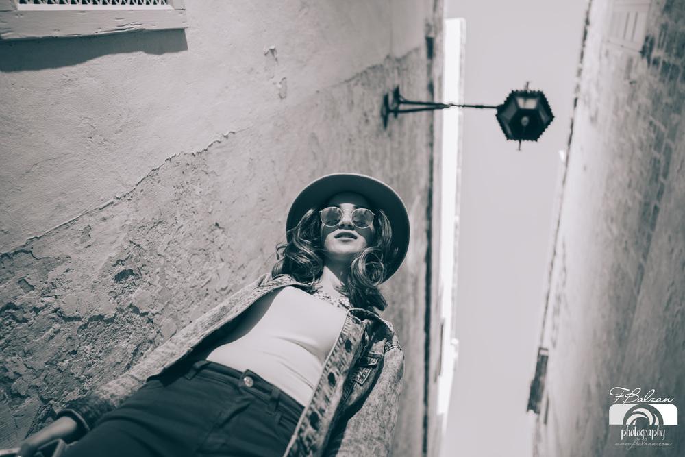 Exploring Mdina's streets
