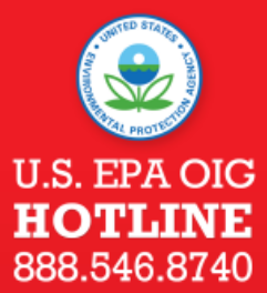 Report threats to report.EPA.threats@epa.gov or call 888-546-8740. In immediate danger? Dial 911.