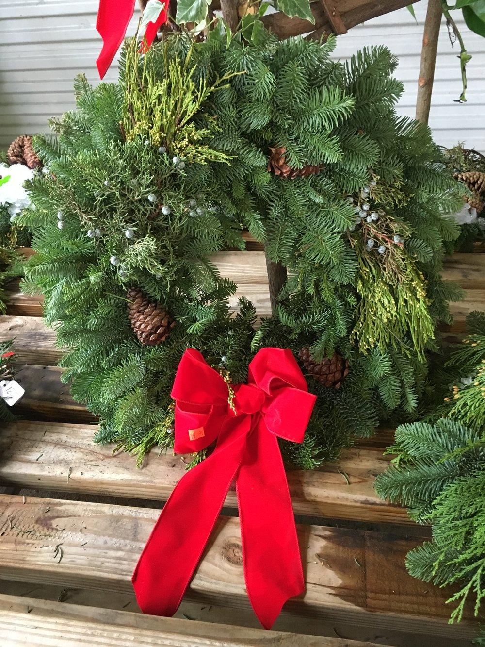 The only problem with these wreaths is having to pick which one to get!