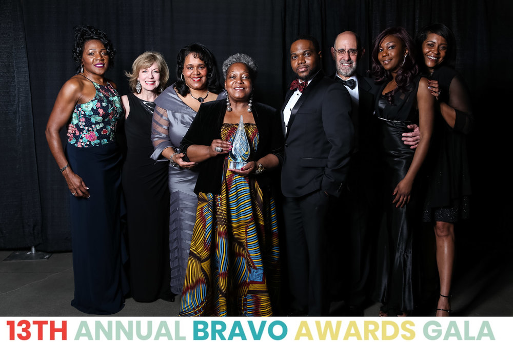 L-R: Rosemary Parson, Debra Salowitz, Renee Hardman, Claudine Cheatem, Ken-Matt Martin, Neil Salowitz, Alexis Davis, and Tiffany Johnson