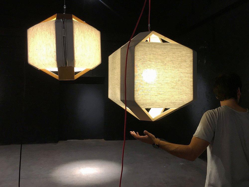cënelló medium / cënelló XL. Pendant lamps