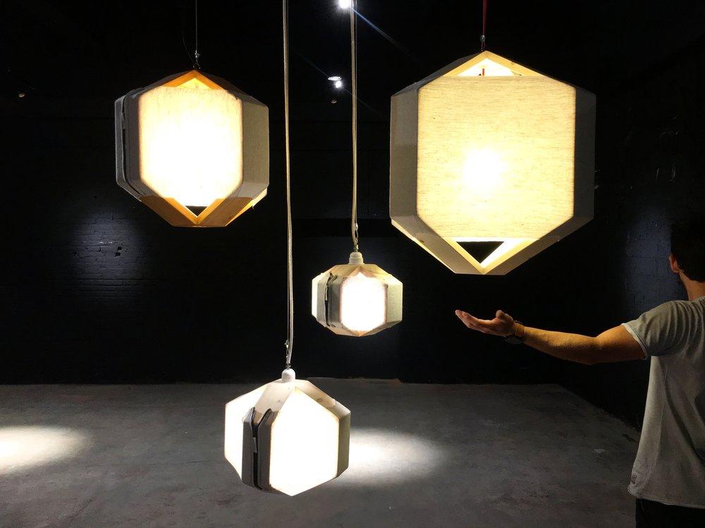 cënelló medium / cënelló mini /cënelló micro / cënelló XL. Pendant lamps