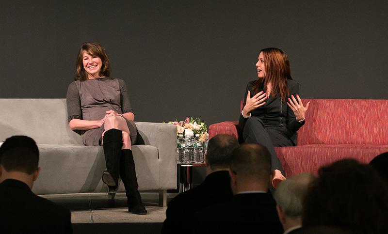 Susan Canavari and Sandra Nudelman, JP Morgan Chase