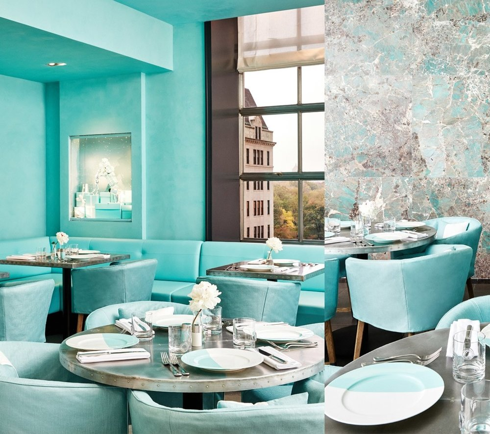 The 'Blue Box Cafe' Interior Design by Ronan & Erwan Bouroullec as seen in AD España issue Enero 2018