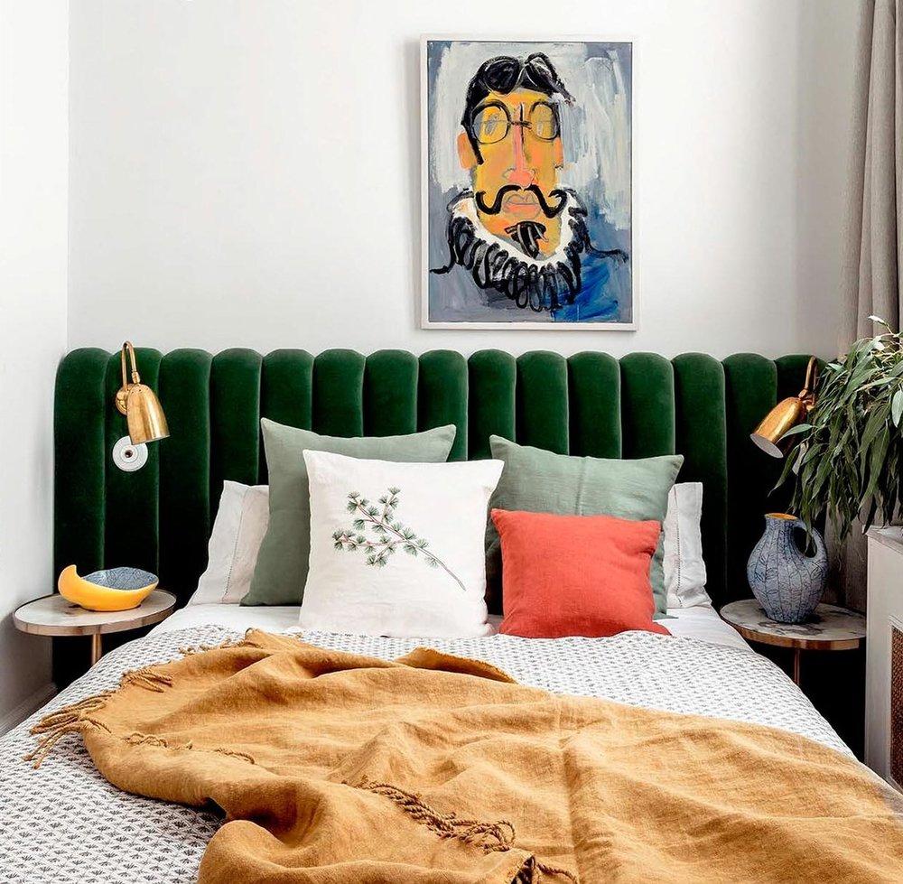 Interior Design by Carmen Rebuelta in Salesas, Madrid as seen in AD España issue Enero 2018