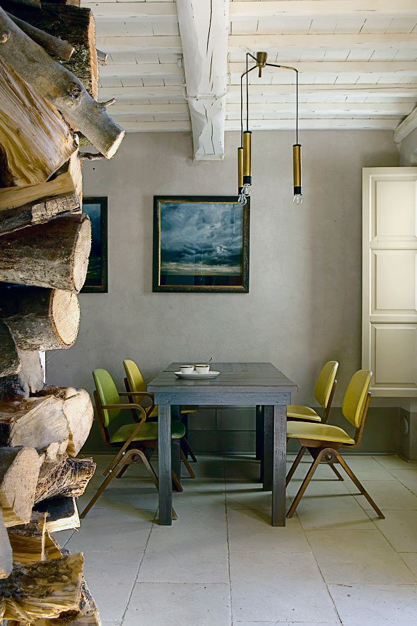 Locanda del Colle B&B Interior Design by Riccardo Barsottelli in Toscany.
