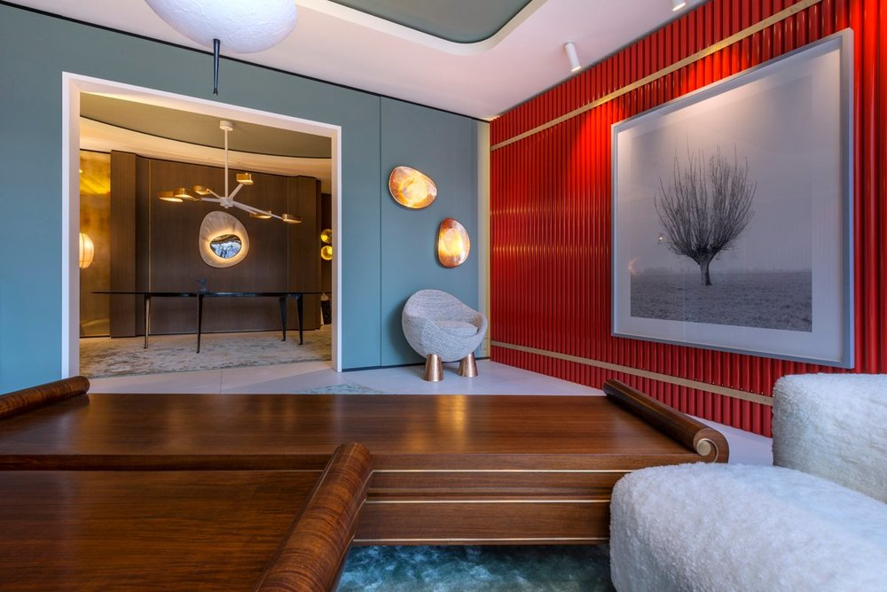 Living room in Kyoto by Achille Salvagni as seen on www.1stdibs.com