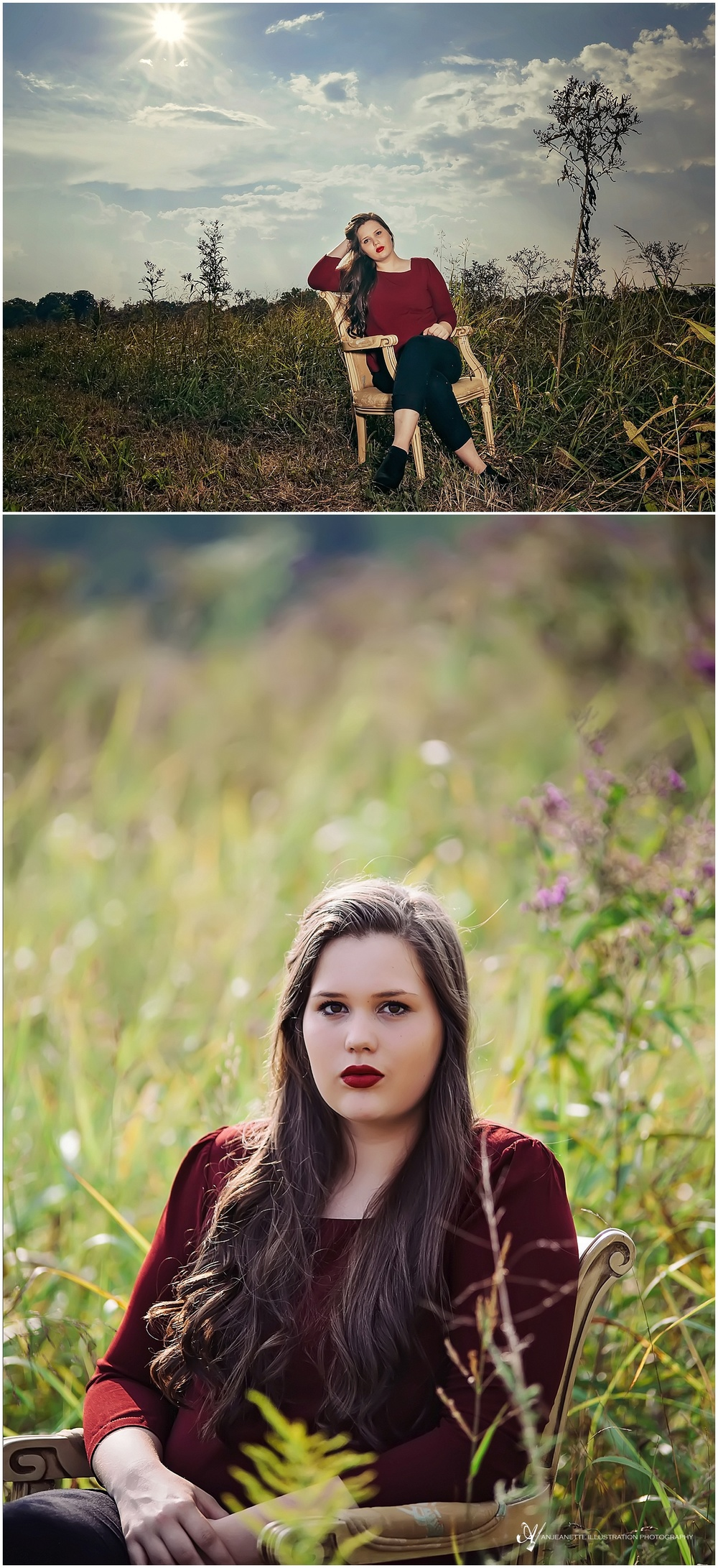 Hendersonville Tn Senior Pictures by Photographer Anjeanette Illustration Photography