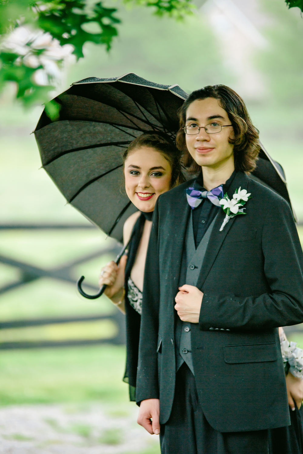 One of my favorite models, Kendall, and her date Tyler.
