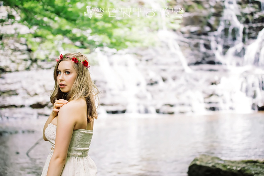 Senior pictures Hendersonville Tn Nashville Tennessee Artist  portrait photographer Anjeanette Illustration Photography