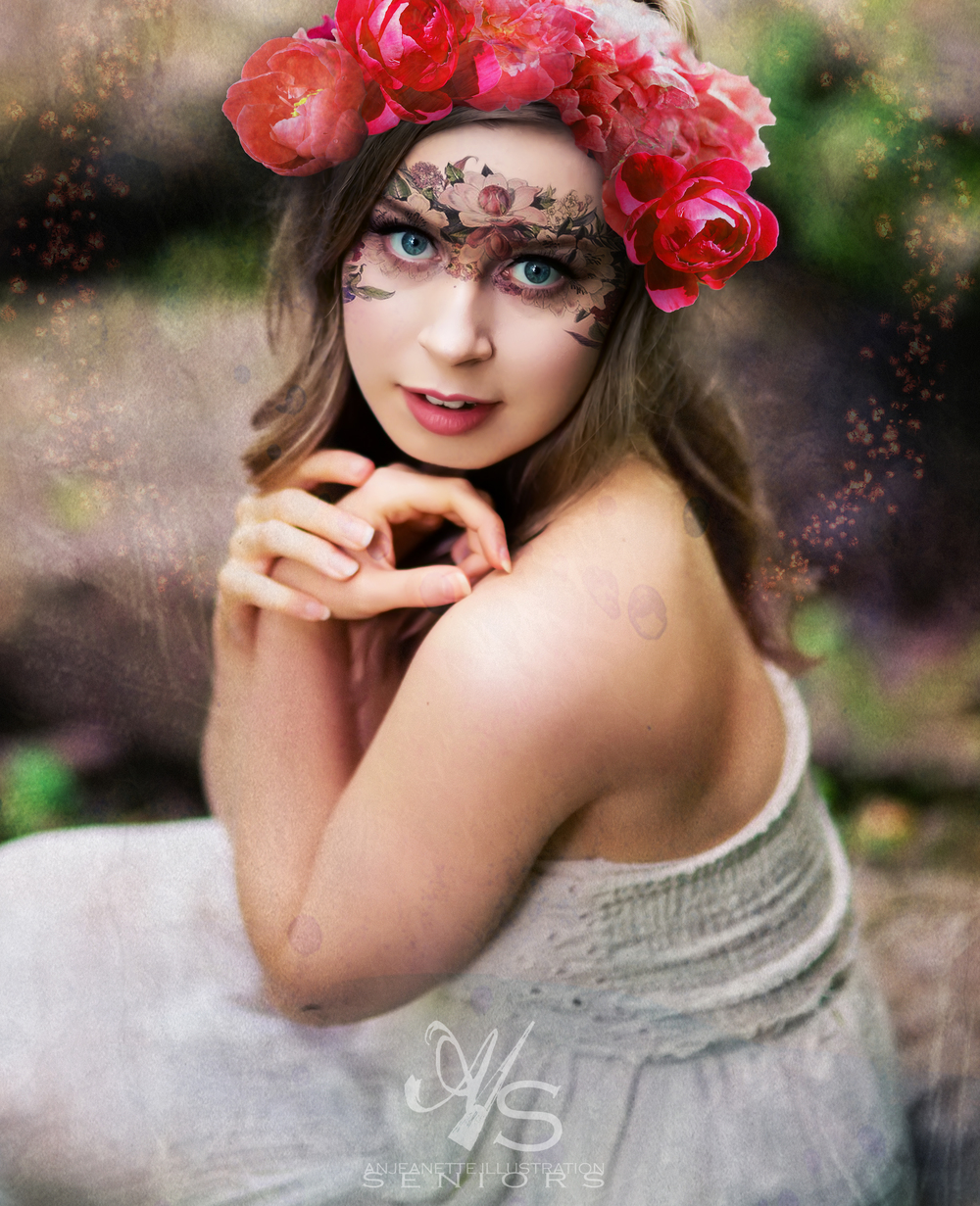 Anjeanette Illustration Seniors  Senior photos tennessee Hendersonville
