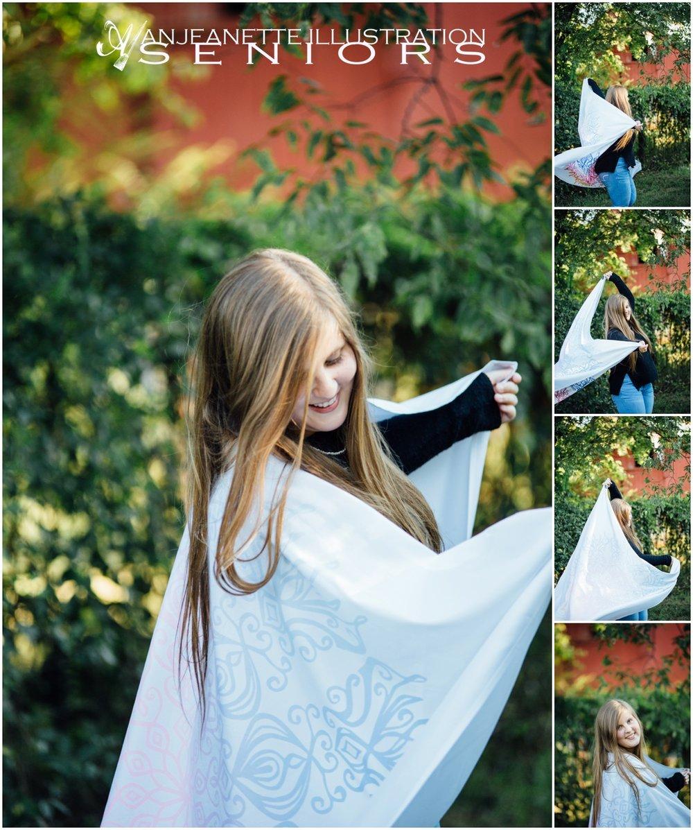 senior photos hendersonville tn Anjeanette Illustration Seniors portrait photography
