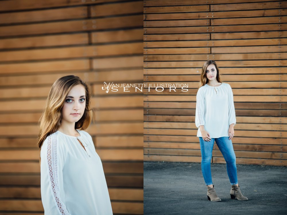 Hendersonville Tn Senior picture ideas by portrait photographer Anjeanette Illustration Photography Nashville
