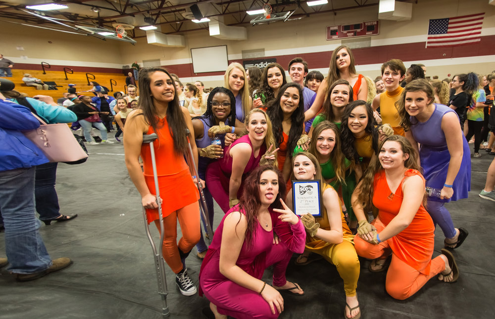 Sumner County Winter Guard takes Second Place at the Franklin Freeze! -