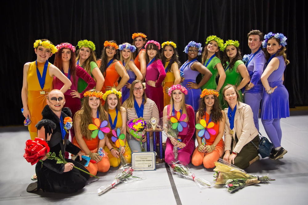 sumner county winter guard station camp winter guard beech winter guard color guard tennessee state champions