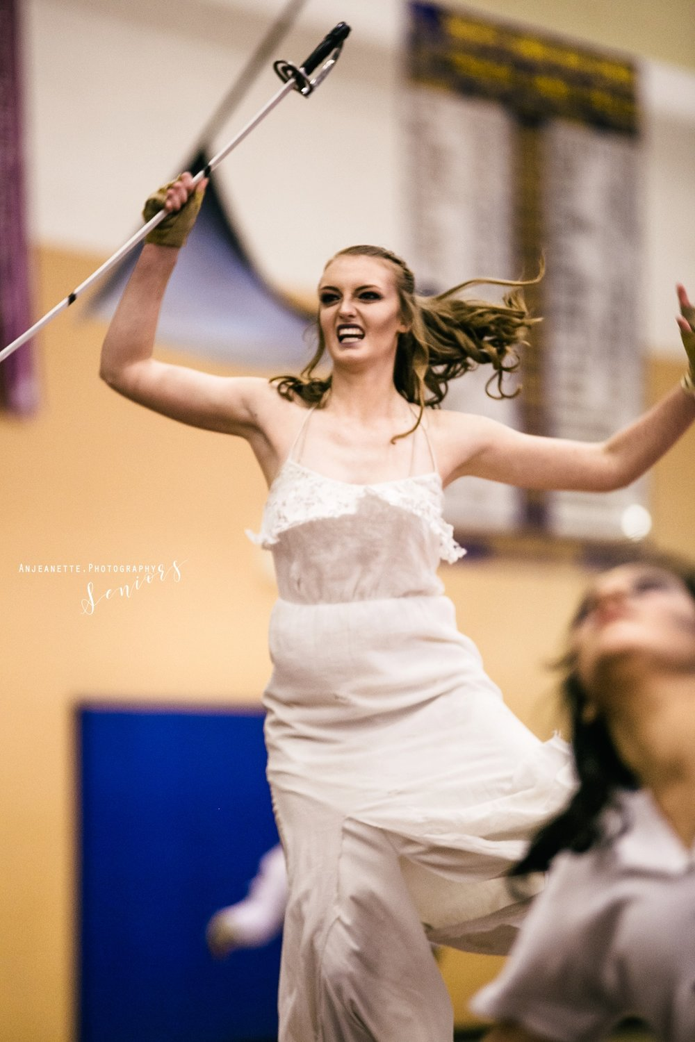 wgi photography action shot anjeanette photography arizona high school senior pictures