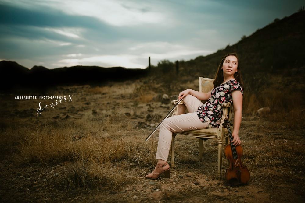 Peoria Az senior grad pictures by Anthem Glendale Az high school portrait photographer Anjeanette Photography Phoenix