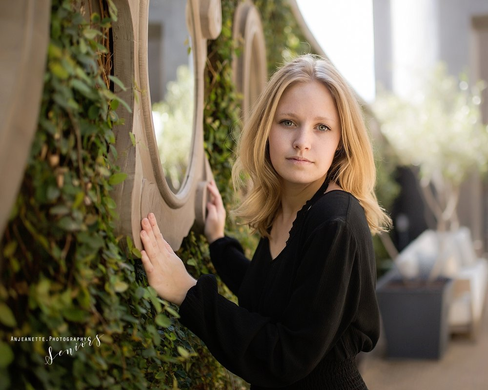 Places to take senior pictures Sandra Day O'Connor High School Phoenix Peoria Az graduation pictures by Anthem high school portraits grad photographer Anjeanette Photography Phx Arizona