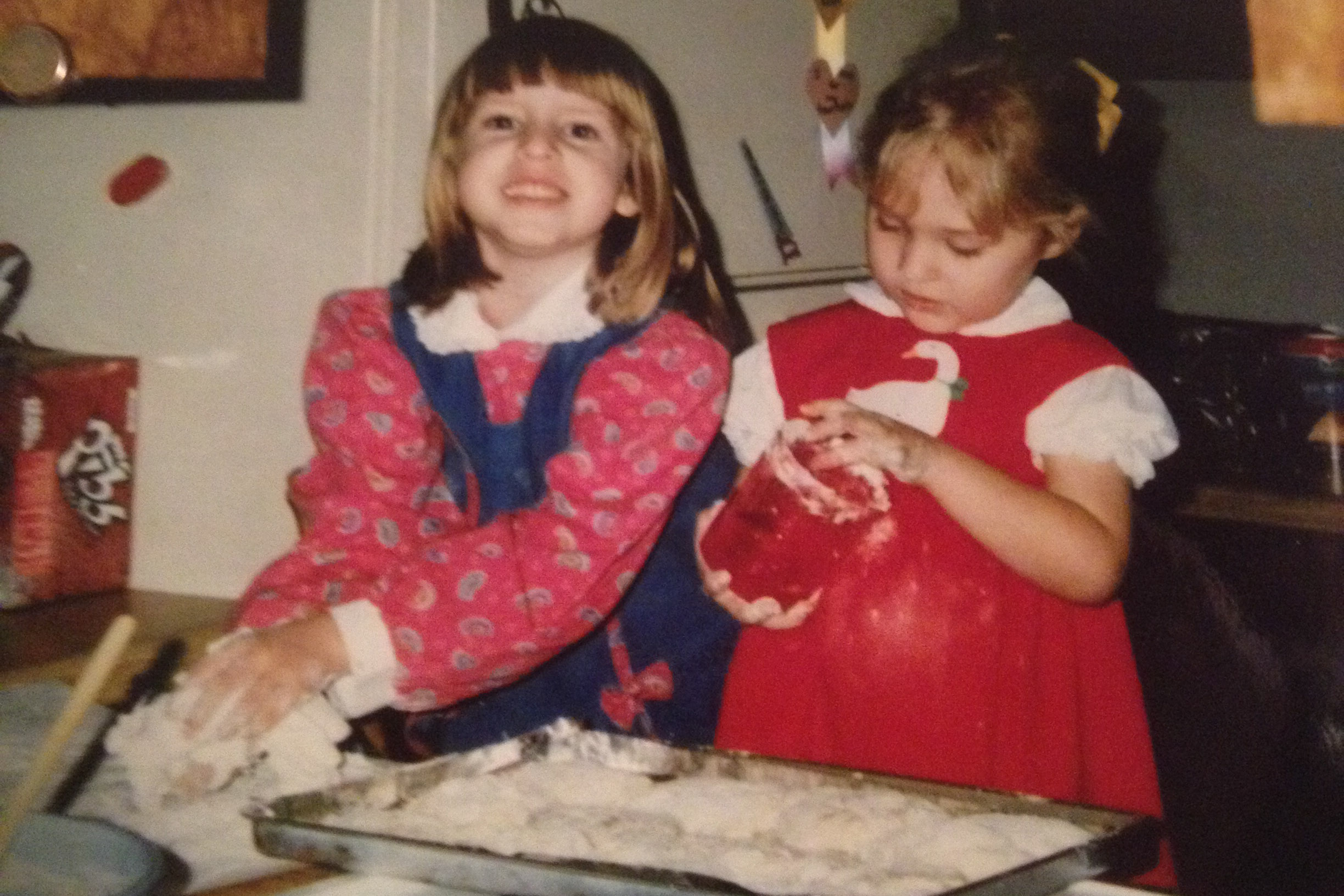 Christa and I back in '97. :)