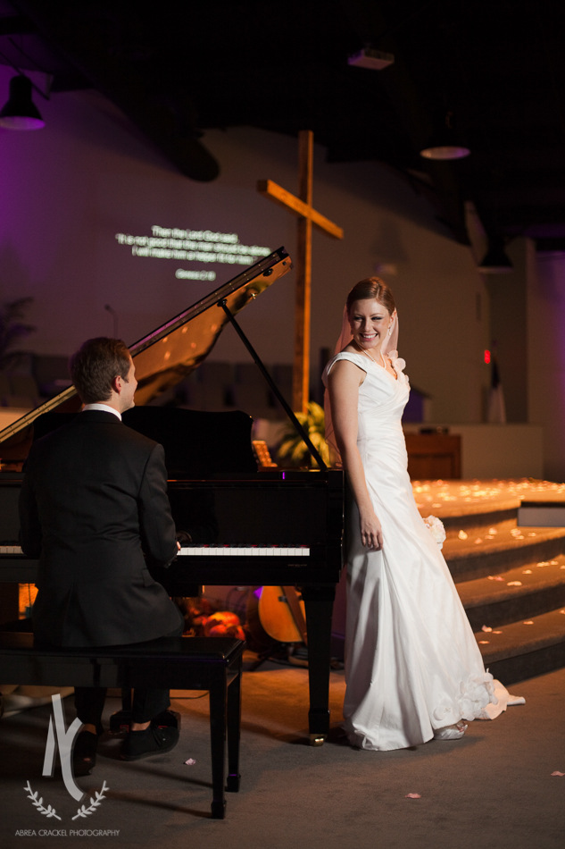 This was where Benjamin and Heidi got engaged, so we wanted to make sure we included some around this piano. Their engagement story is so sweet!