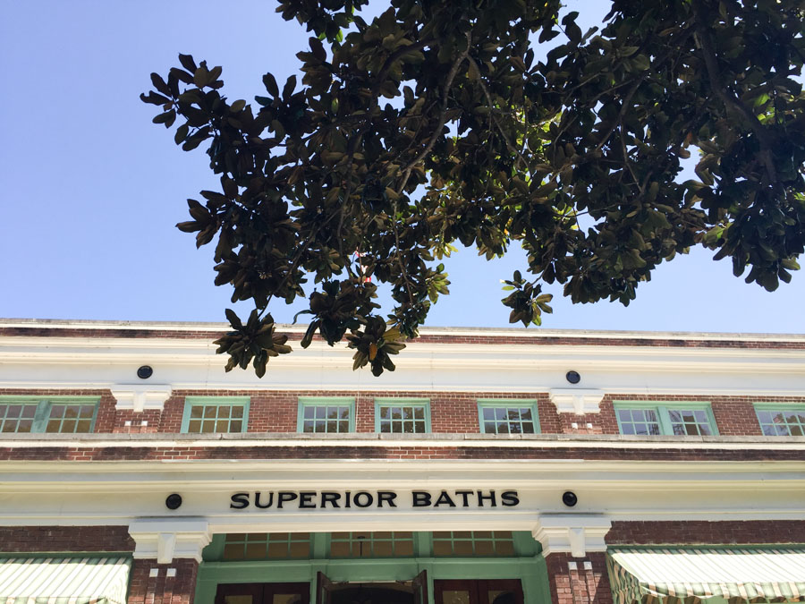 We went to a few different bath houses while we were there, this one had been turned into a brewery, one was a museum, one was a spa and modern bath house, and another was still set up like a vintage bath house which you could tour and see it as it had been used originally.