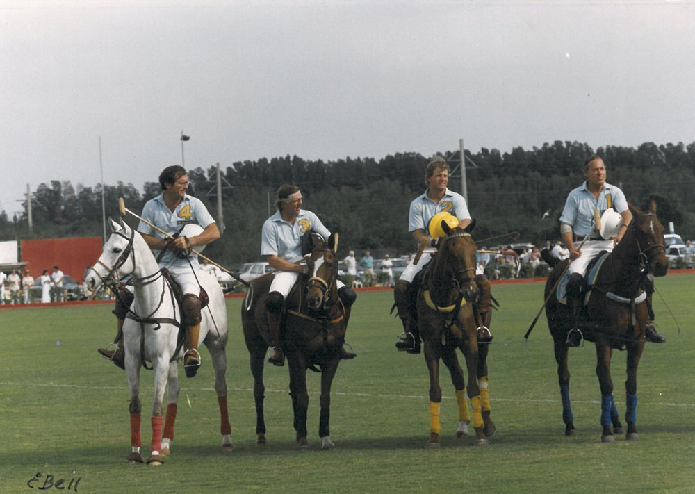 Podger Eleffendi, Bart Evans, Joey Casey and Jack Oxley – International Gold Cup 1989