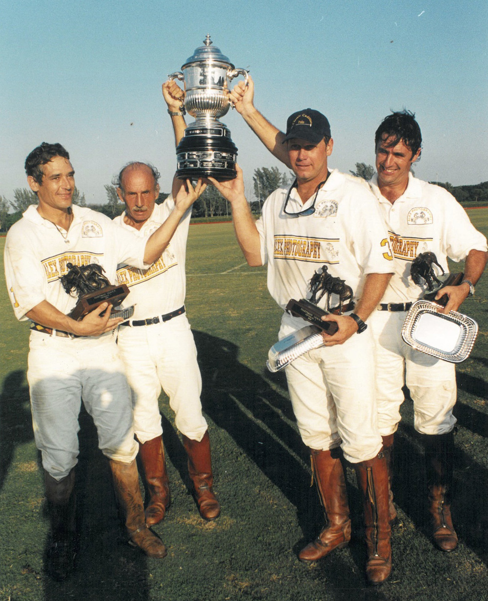 Horacio Areco, Jorge Areco, Juan Badiola and Joey Casey – Winners of the 1996 Hartman league