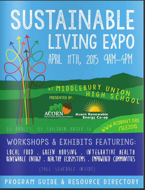Click here to see coverage of the 2014 sustainable living expo.