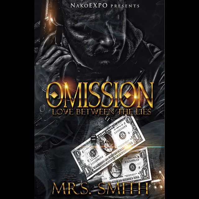 "This is the perfect weekend read! Full-Length, almost 400 pages! ❤️ New Release from NEP! If he removed the mask he had been wearing for years would she still look at him the same?  Montana Richardson was more than a paid hitman, he had a heart for the ones he loved and a very soft spot for Aubree ""Breeze"" Whitaker. One dark secret kept his true feelings at bay. At night, he wondered how could he ever reveal himself to her and if he did what would happen? Fear kept him quiet…until it was too late.  Breeze was peculiar. She was truly in a league of her own. Although, she was young and tender she was way beyond her twenty-five years of age. Meeting Montana by accident revealed her purpose, one that she had secretly been praying about.  What happens when two people collide magically? Is it pure coincidence or is it fate? Is omitting the truth to preserve the rare love that you share for another, considered lying?  Mrs. Smith breaks out as a new author with this spell-binding full-length romance novel, Omission: Love Between The Lies is a two-part series that is sure to leave you questioning, is omission acceptable in relationships? Does the end justify the means? Could you find love between the lies? Coming in 2018"