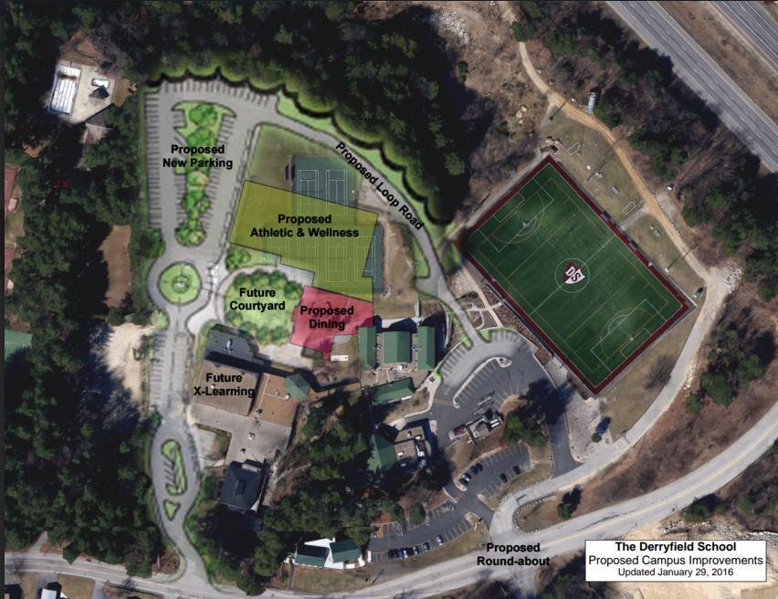 Campus Overlay & Proposed Loop Road