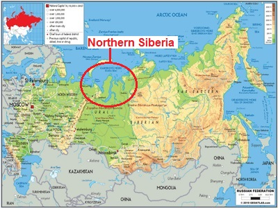 Siberia Map My Blog
