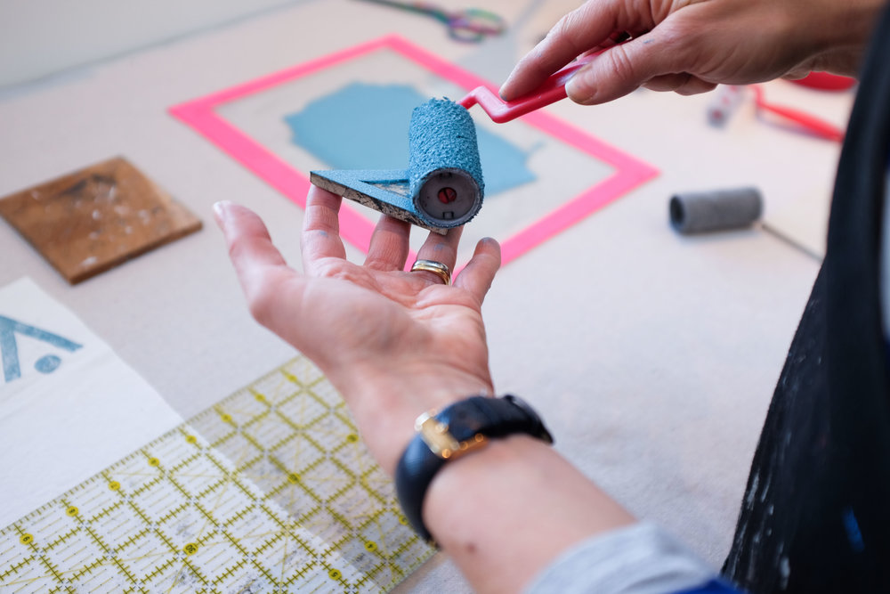 Block Printing Basics - December date to be confirmed,6:30-9:30pmNatalie Gerber Studio & Workshops, cSPACENatalieGerber.caJoin me for an introduction to surface pattern design through block printing. Explore pattern with hands on demonstrations teaching the basic concepts of repeat and multi-colour block printing. Carve your own block for printing and take it home for further exploration along with your two finished tea towels!
