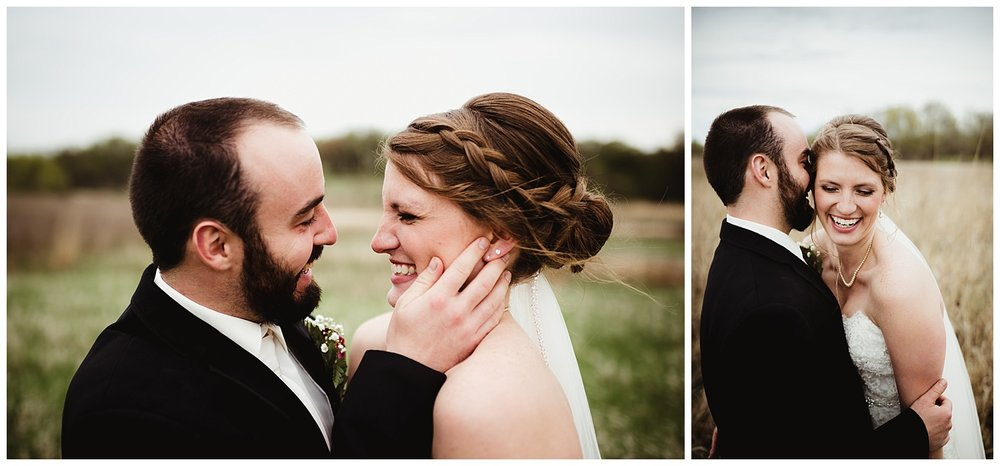 Kayla E. Photography bride and groom wisconsin wedding.jpg