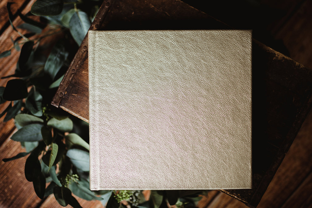 Albums - The highest quality, press printed, layflat pages, wrapped in a beautiful geniune Italian Champagne leather.from $360