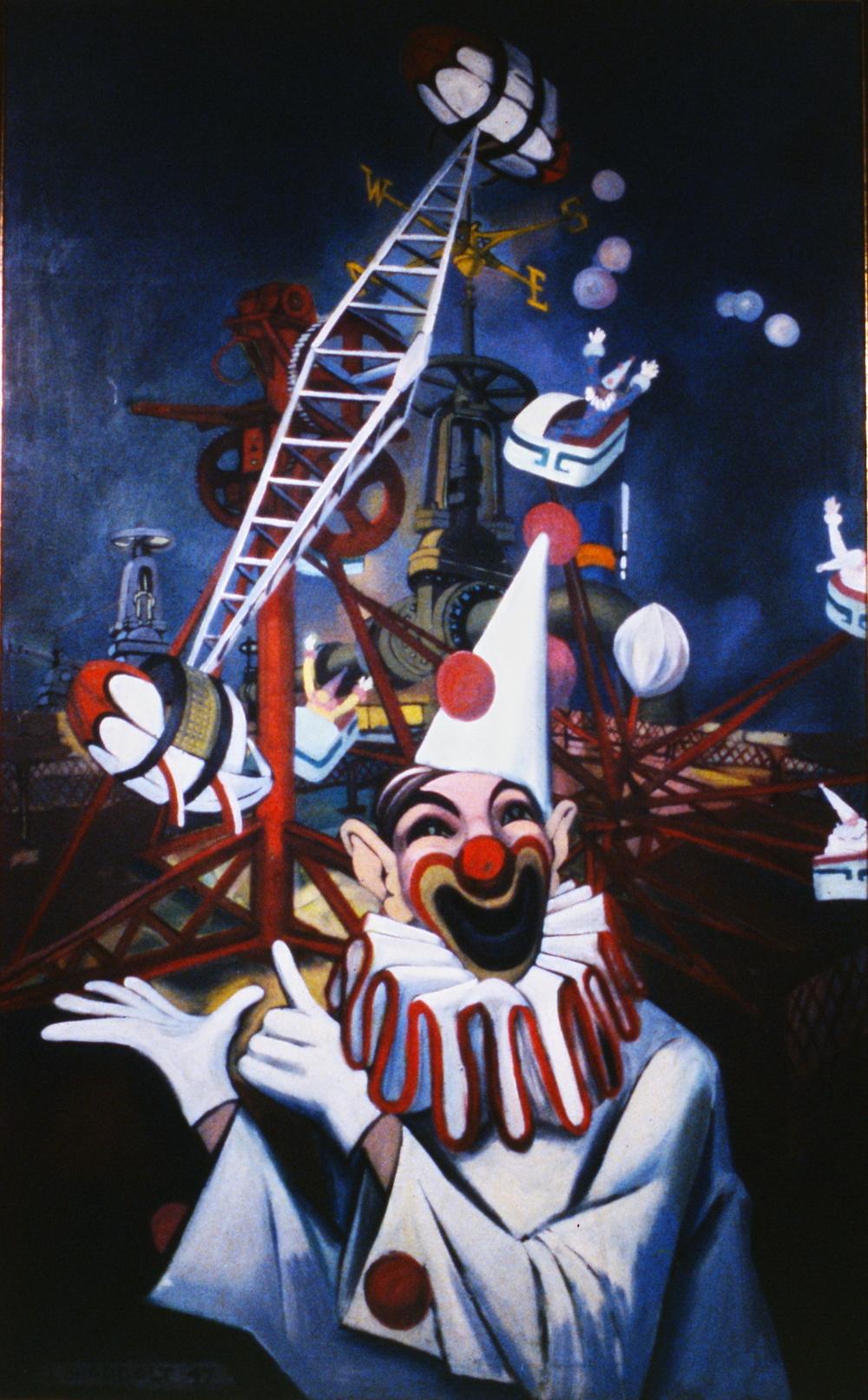 Carnival Time, Jack Shadbolt, 1947, 947.01.01