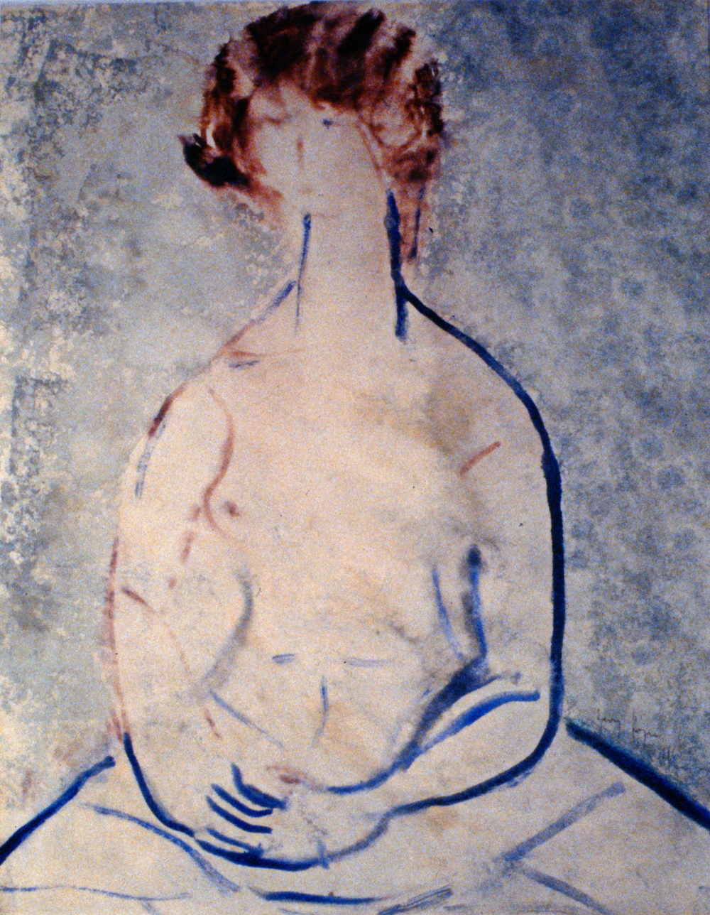 Helen , 1965, Henry Hoenigan, watercolour on paper, 34.5 x 28 cm, 1982.03.01. Anonymous gift.