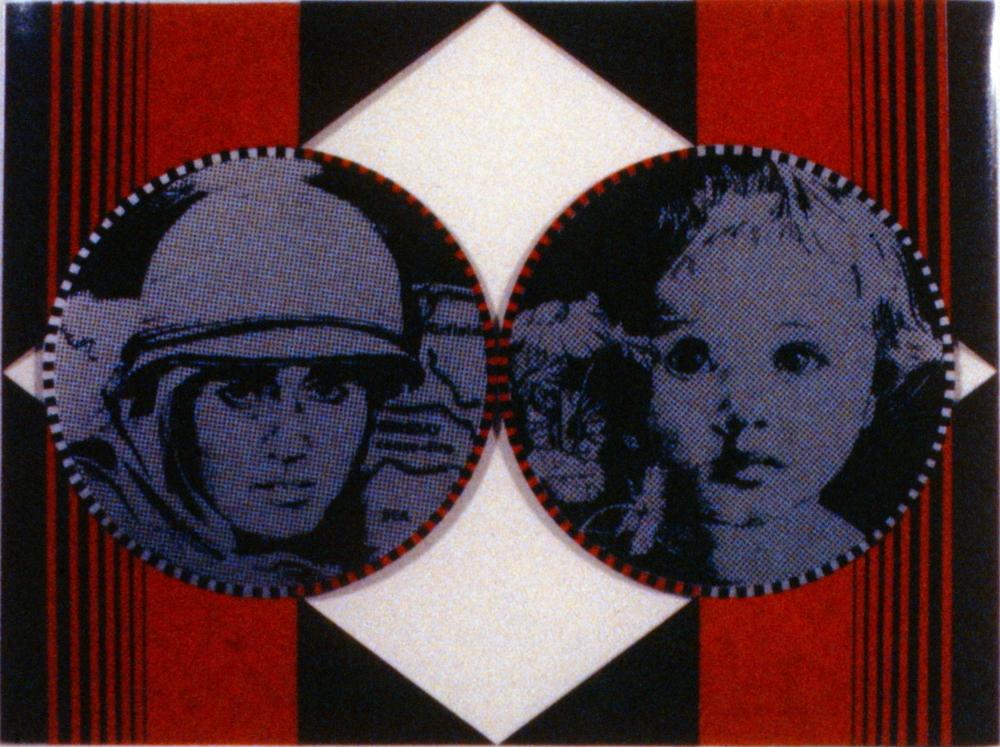 "Diamond , Audrey Capel Doray, serigraph, edition 36/50, 15"" x 20"", 1985.03.01. Simon Fraser Centennial Suite Donation. Gift of Jessie BInning."