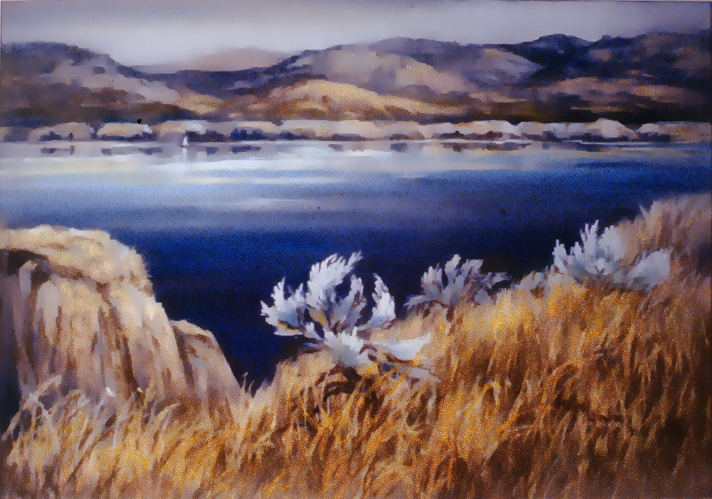Summer Solitude, 1986, Mabel Gawne, soft pastel on paper, 1986.08.01