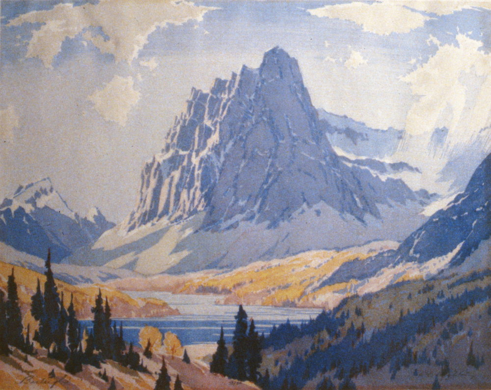 Castle Mountain, Barbara Leighton, 1993.02.02