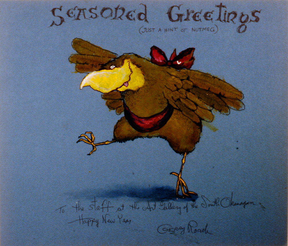 Seasoned Greetings (and just a hint of nutmeg) , Gerald Roach, 1994.12.01