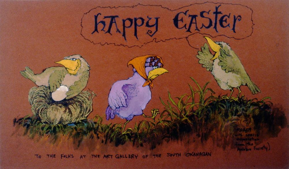 Happy Easter, Gerald Roach, 1994.12.02