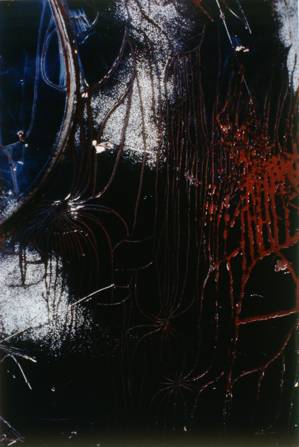 "Etchings of Time , nd. Gerhard Kahrmann, photograph, 22"" x 28"", 1994.16.01"