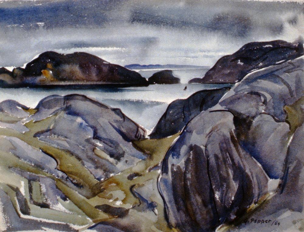 #4 Newfoundland Coast, 1954