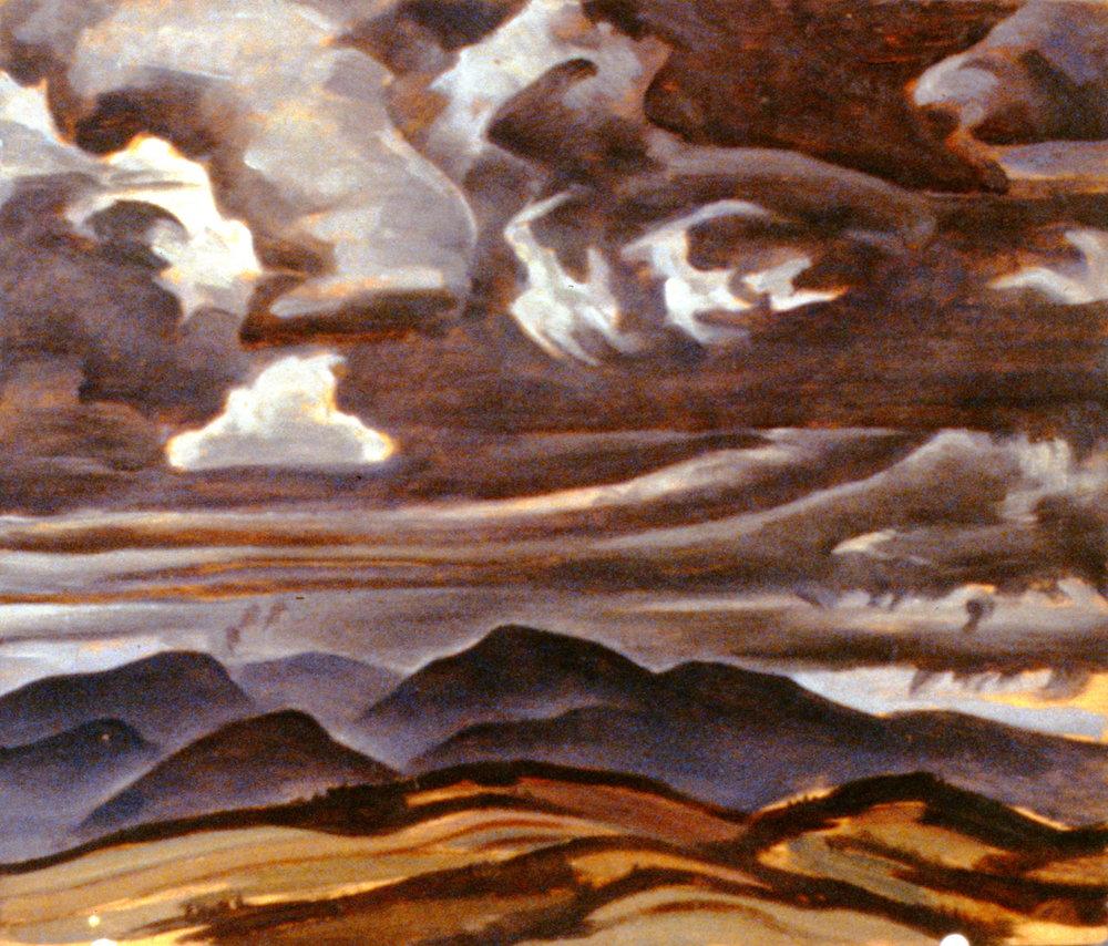 Sky Over Charlevoix, n.d.