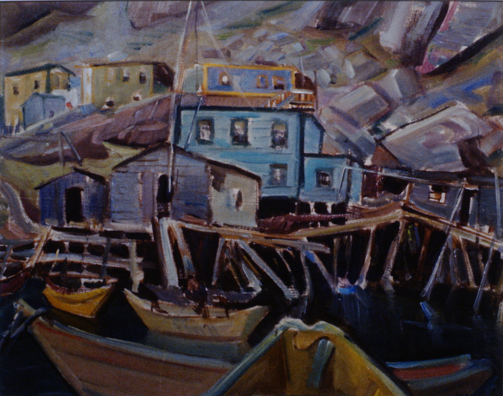 Fishermen's Homes, Newfoundland, 1954