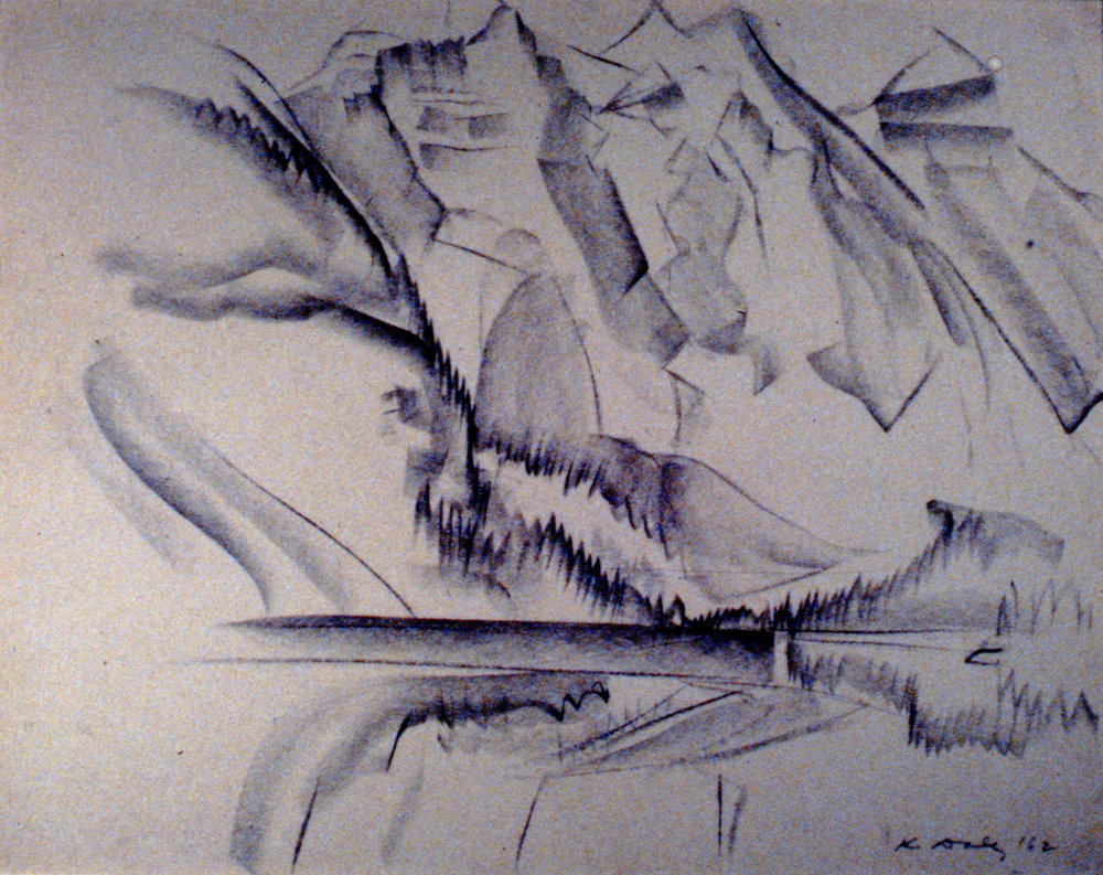 Untitled (Rockies), 1962